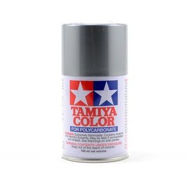 Tamiya PS-12 Polycarbonate Spray Silver 3 oz