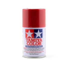 Tamiya PS-15 Polycarbonate Spray Metal Red 3 oz