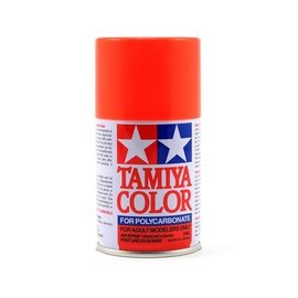 Tamiya TAM86020  PS-20 Polycarbonate Spray Fluorescent Red 3 oz