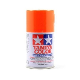 Tamiya PS-24 Polycarbonate Spray Fluor Orange Paint 3 oz