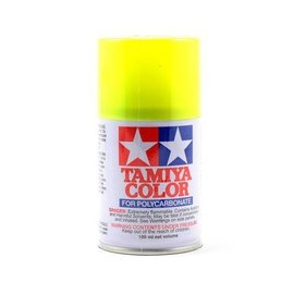 Tamiya PS-27 Polycarbonate Spray Fluorescent Yellow 3 oz