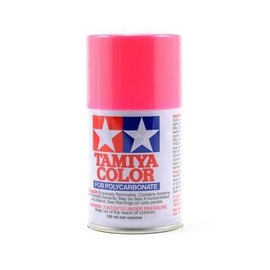 Tamiya PS-29 Polycarbonate Spray Fluorescent Pink 3 oz