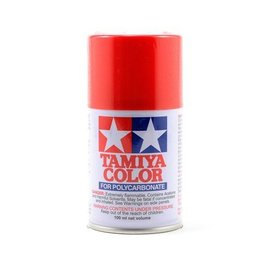 Tamiya PS-34 Polycarbonate Spray Bright Red 3 oz