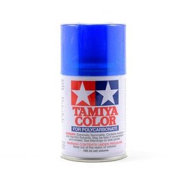 Tamiya PS-38 Polycarbonate Spray Translucent Blue 3 oz