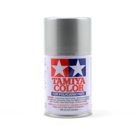 Tamiya PS-41 Polycarbonate Spray Bright Silver 3 oz