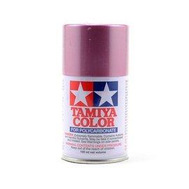Tamiya PS-50 Polycarbonate Spray Metallic Red/Pink 3 oz