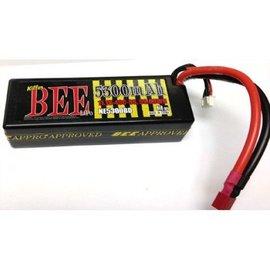 Trinity 5300mAh 3S 40C 11.1V Killer BEE LiPo Battery with Deans