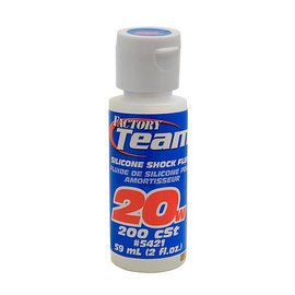 Team Associated 20WT Silicone Shock Oil 2 oz