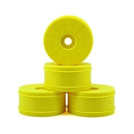 J Concepts Bullet 83mm 1/8Th Buggy Wheel  Yellow (4)