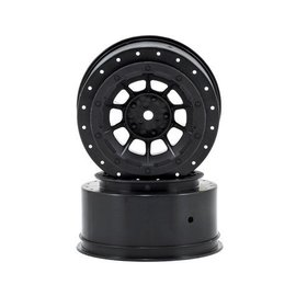 J Concepts Hazard Slash Rear, Slash 4X4 F&R Wheel Black (2)