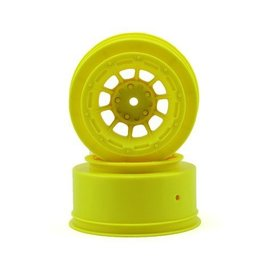 J Concepts Hazard Slash 2WD Front Wheel Yellow (2)