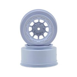 J Concepts Hazard Slash 2WD Front Wheel White (2)