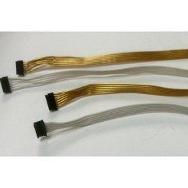Trinity White Ribbon Style Sensor Cable 105mm Super Flex