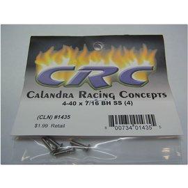 CRC CLN1435 4-40 X 7/16  Button Head Stainless Steel