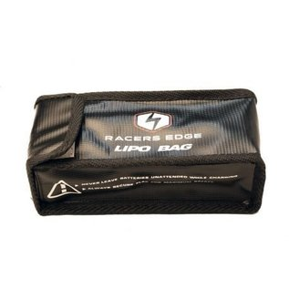 Racers Edge Lipo Safety Bag (up to 6S) Black