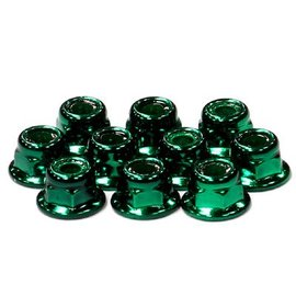 Integy Color Flanged Locknut 4mm (10)