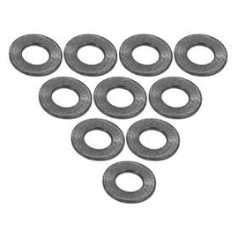 3-Racing 3RAC-WF305TI Titanium Aluminum M3 Flat Washer 0.5mm (10)