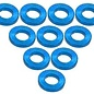 3-Racing Light Blue Aluminum M3 Flat Washer 1.0mm (10)