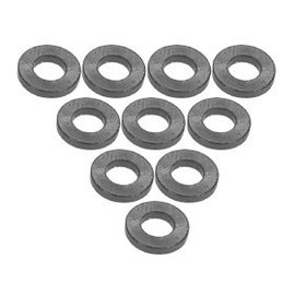3-Racing Titanium Aluminum M3 Flat Washer 1.0mm (10)