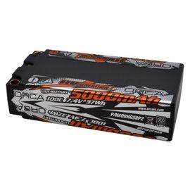 ORCA Infinite HV Gen2 5000mAh 7.4V 100C 2S Shorty Lipo Battery