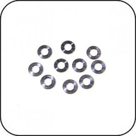 Awesomatix 6x3x0.5mm Spacer Silver (10)