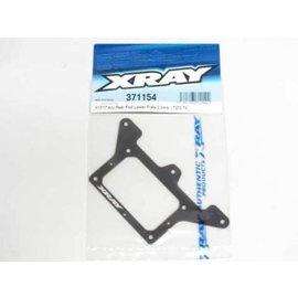 Xray X12 2017 Aluminum 2.0mm Rear Pod Lower Plate