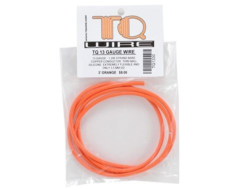 TQ Wire Gauge Wire 3\' Orange - Michael\'s RC Hobbies