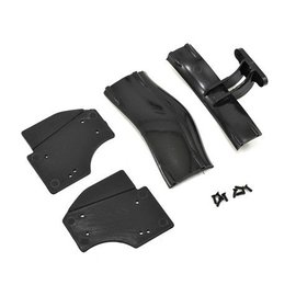 Xray X1 Composite Adjustable Rear Wing Black ETS Approved