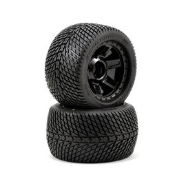 "Proline Racing Road Rage 3.8"" Street Tireson Desperado Wheel (2)"