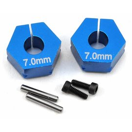 Team Associated B6 Clamping Wheel Hexes 7.0mm (2)