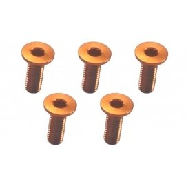 3-Racing M3 X 10 Flat Head Hex Screw