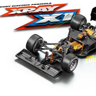 Xray X1 2017 F1 Luxury 1/10 Formula Race Car