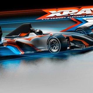 Xray X1 2017 F1 Luxury 1/10 Formula Race Car