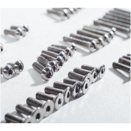 Schelle Racing Titanium Upper Screw Set  TLR 22 3.0
