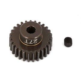 Team Associated ASC1345 FT Aluminum Pinion Gear, 27T 48P, 1/8 shaft