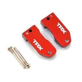 Traxxas TRA3632X Red Anodized Caster Blocks 30 Degree 6061-T6 Aluminum (2)