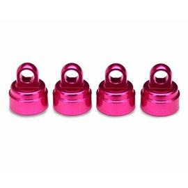 Traxxas TRA3767P Shock Caps Aluminum Pink-Anodized (4)