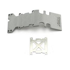 Traxxas TRA4938A Rear Skidplate (Grey) (TMX, TMX 3.3)