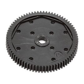 Team Associated ASC9650 B6 Spur Gear, 75T 48P
