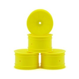 J Concepts Mono  B6 / RB6 12mm Hex Rear Wheel Yellow (4)