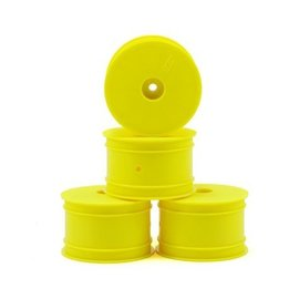 J Concepts Mono TLR 22 Rear Wheel Yellow (4)