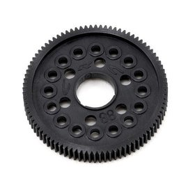 CRC 64 Pitch Spur Gear, 88 Tooth 16x 3/32 or 2.5mm Ball