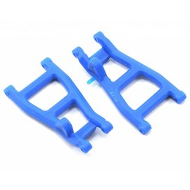 RPM R/C Products RPM80535 Rear A-Arms Blue Nitro Rustler/Stampede