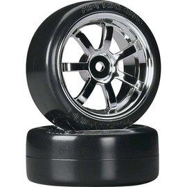 HPI HPI4739  T-Drift/Rays 57S Wheels 26mm Chrome (2)