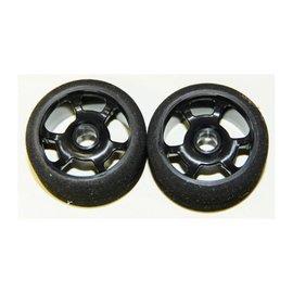 BSR 1/12 Magenta Front Foam Tire (2)