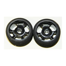 BSR 1/12 Blue Front Foam Tire (2)