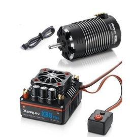 Hobbywing XERUN XR8 1/8 ESC (2S-6S) & G2 4268SD 1900KV Sensored Motor Combo