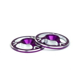 Avid RC AV1060-PUR  Triad Wing Buttons Purple M3 (2)