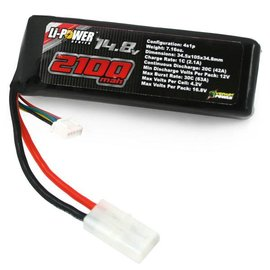 Venom Racing 14.8V 4S 1P 2100 mAh 20C Lipo Battery Pack for Starter Box