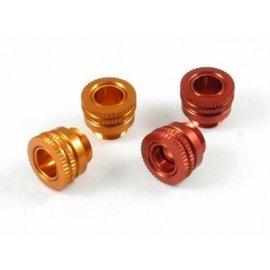 RocheRC USA ROC-BPA01-0  Alum Body Post Adjuster for 5mm Post - Orange (2)